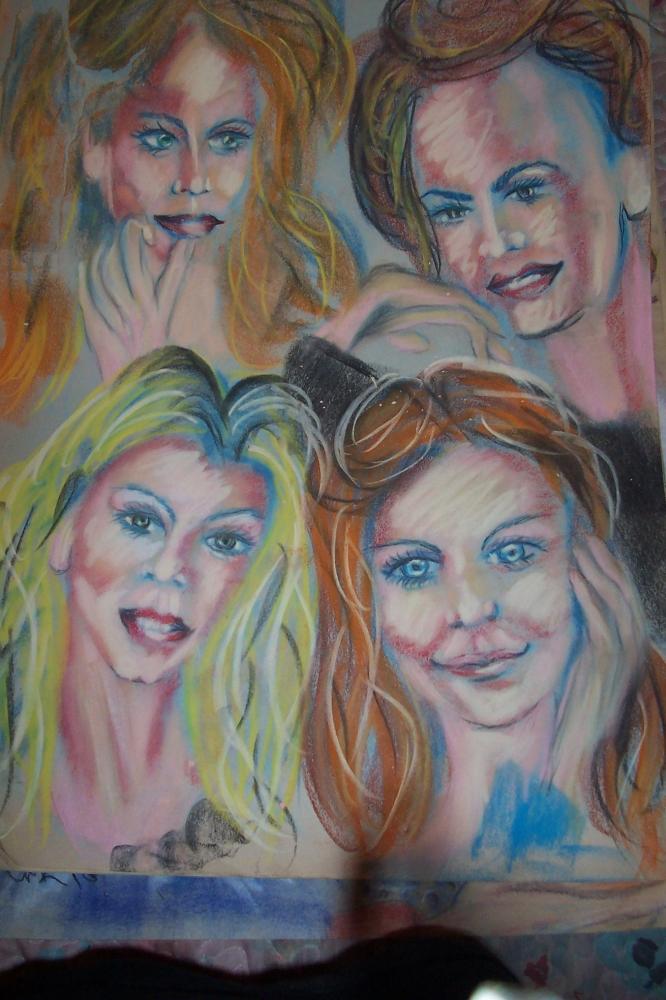 Martina McBride, Faith Hill, Shania Twain, Reba McEntire by cindykron